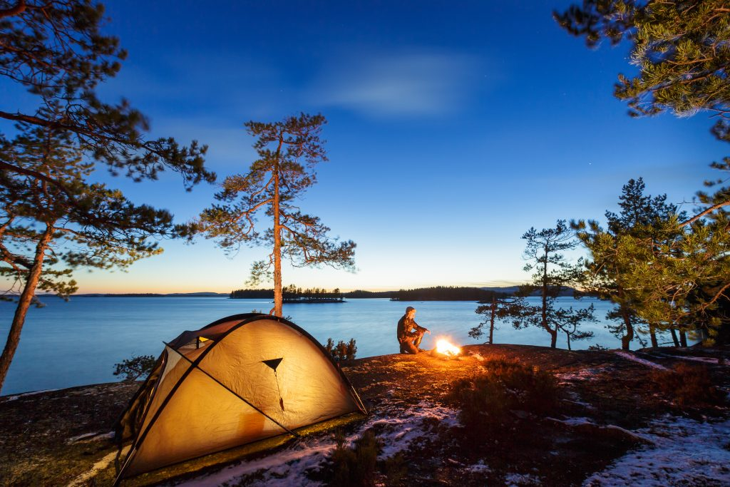 Backyard Camping for Canada's 150